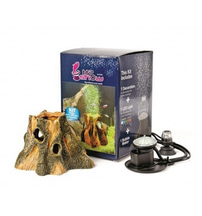Hydor H2shOw Earth Wonders Kit Wood
