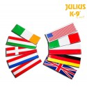 Julius-K9® Velcro National Flags