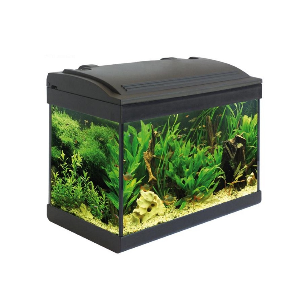 Acquario completo milo 43 nero carmar a 58 42 acquari for Acquari on line shop