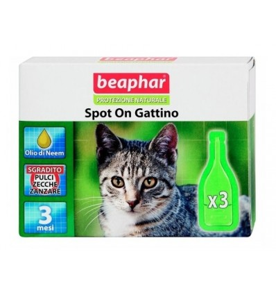 Beaphar naturale gatto (3 pipette)