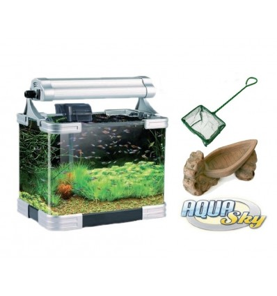 Fish & Aquariums Gentle Acquario Completo 50 Litri